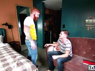 Skinny dude Jack Radley provides Bennett Anthony a hardcore fucked that he ever wanted