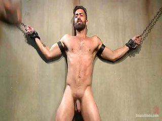Christian Wilde in addition to Adam Ramzi - Free Gay Porn not far from Boundgods - movie 125731