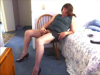 Oldie Flashing together with sweet peak in nylons