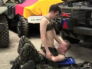 blowjob, facial, homosexual, huge dick, military
