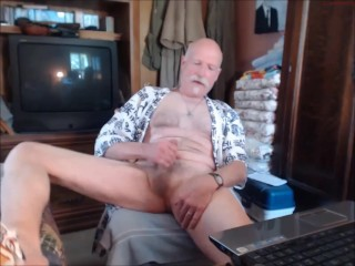 cumshot, daddy, homosexual, huge dick, solo