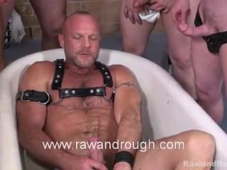 daddy, gays fucking, hairy, homosexual, leather