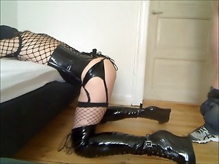 Sissy CuteCross fucked in the ass by stranger