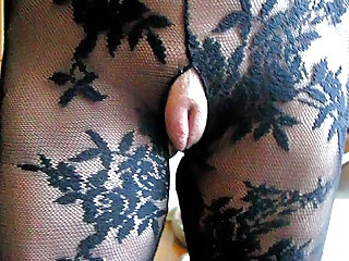 Fishnet Pussy Squirt