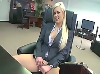 Babe Blonde Gangbang Office Pornstar Secretary
