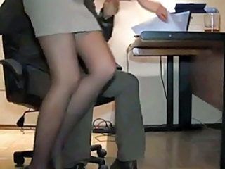 HiddenCam Legs Secretary Stockings