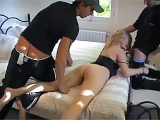 Ass Blowjob Threesome