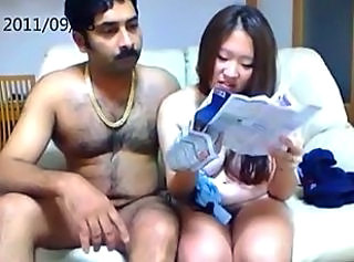 Asian Girlfriend Interracial Webcam