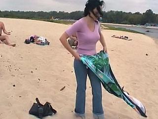 Amateur Beach Outdoor Public