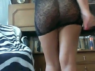 Amateur Amazing Ass Lingerie