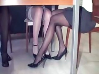 Legs Stockings Upskirt