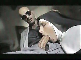Blowjob Clothed Nun Uniform Vintage