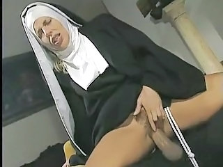 Clothed Double Penetration Hardcore Nun