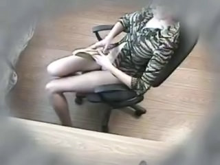 HiddenCam Masturbating Voyeur
