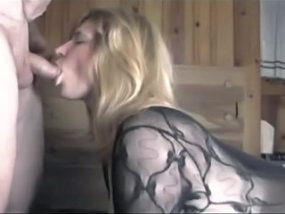 Amateur Blowjob Homemade Lingerie