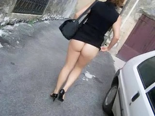 Ass Outdoor Public