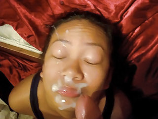 Amateur Asian Cumshot Facial Homemade Pov