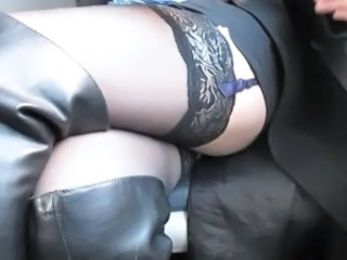 Stockings Upskirt