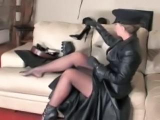 Fetish Latex Legs