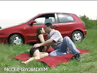 Car Girlfriend Outdoor