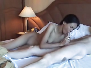 Amateur Asian Blowjob Girlfriend Homemade Interracial Skinny Thai