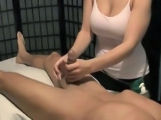 Big Tits Handjob Massage Natural