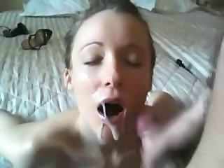 Amateur Cumshot Girlfriend Homemade Swallow