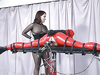 Bondage Fetish Latex Machine