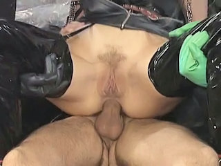 Anal Clothed Fetish Latex