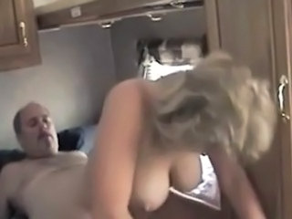 Amateur Big Tits Daddy European German Homemade Natural Riding