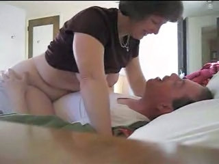 Chubby HiddenCam Riding Voyeur Wife