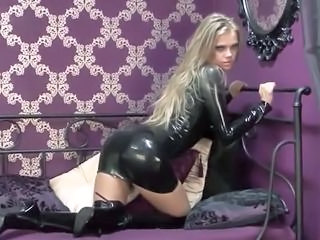 Ass Babe Blonde Cute Latex