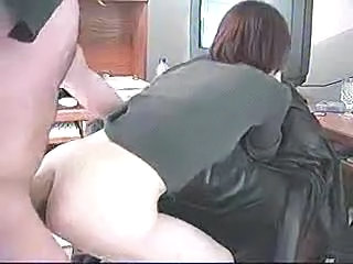 Amateur Clothed Doggystyle Office Secretary