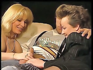 Handjob  Threesome Vintage