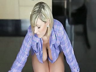 Amazing Big Tits Blonde Cute  Natural