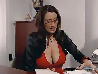 Amazing Big Tits Glasses  Teacher