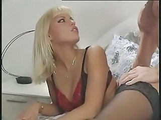 Amazing Blonde European German Lingerie  Pornstar Vintage