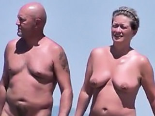 Beach Mature Nudist Outdoor Voyeur Wife