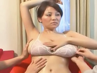 Asian Big Tits  Natural Oiled