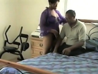 Amateur Ebony Homemade  Wife