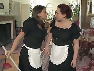Babe European Italian Maid Uniform Vintage
