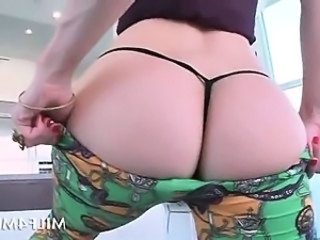 Amazing Ass  Panty Pornstar Stripper