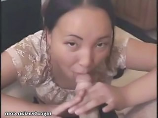 Amateur Asian Blowjob  Pov Small cock Wife