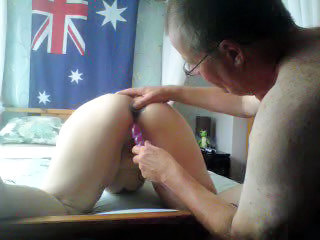 Amateur Homemade Older Toy Wife