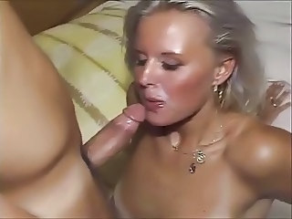 Amateur Blonde Blowjob Cute European German Wife