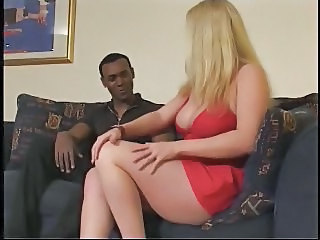 Big Tits Blonde British European Interracial