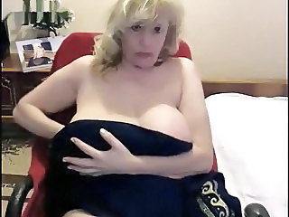 Big Tits Blonde Mature Mom Russian Webcam
