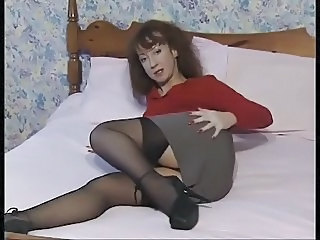 Legs Mature Skirt Stockings