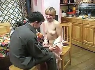 Amateur Blonde Kitchen Mature Mom Old and Young Russian Small Tits