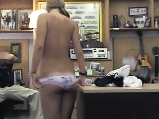 Amateur  Office Panty Stripper